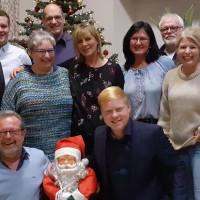 Gute Stimmung bei der SPD-Weihnachtsfeier