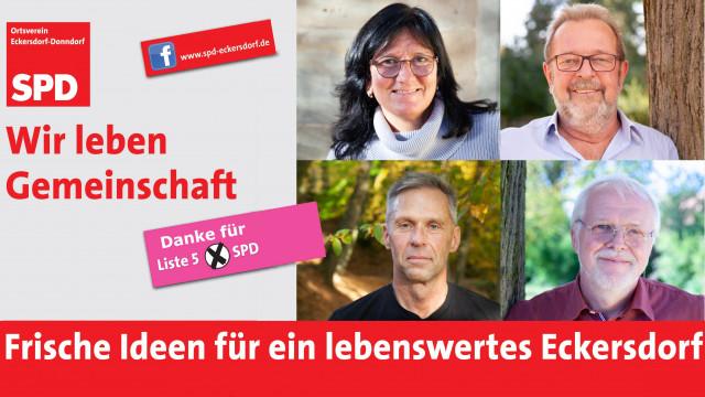 SPD Gemeinderäte für Eckersdorf
